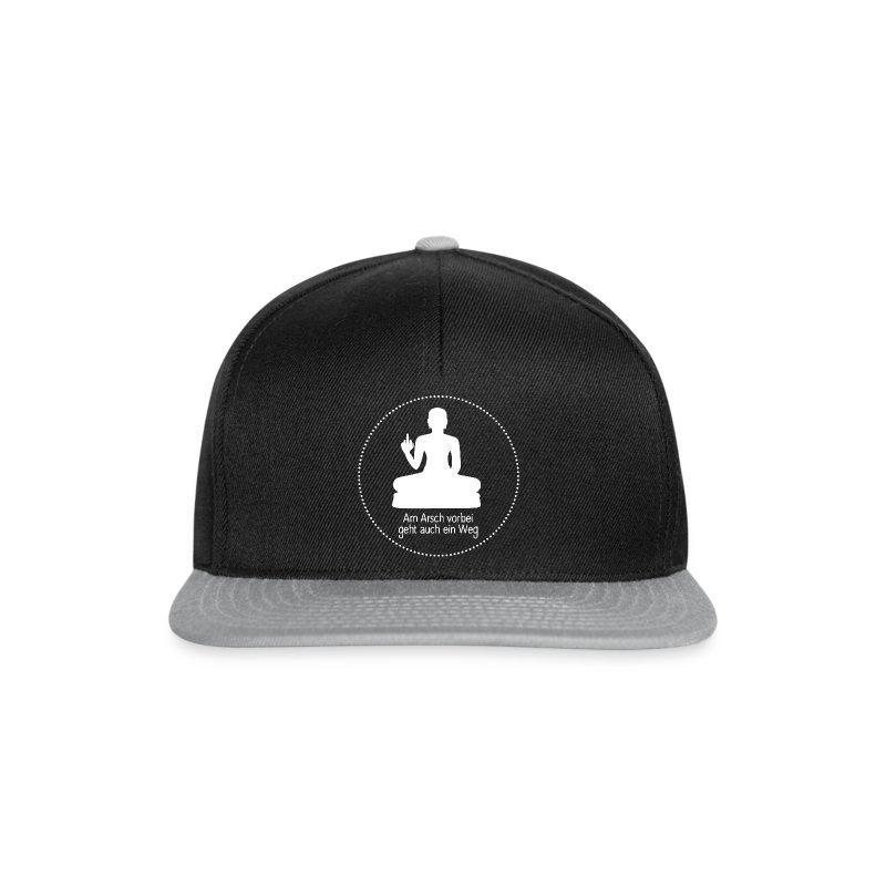 AA vorbei weiß Kreis - Snapback Cap