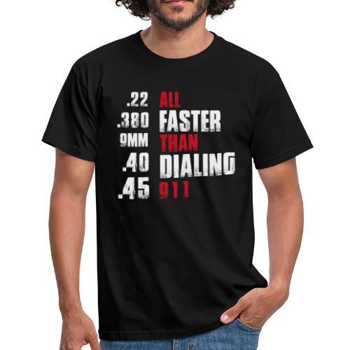 All Faster - Männer T-Shirt