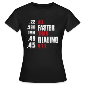 All Faster - Frauen T-Shirt