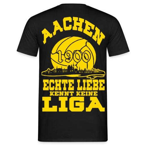 Aachen 1900 Echte Liebe kennt keine Liga - Männer T-Shirt
