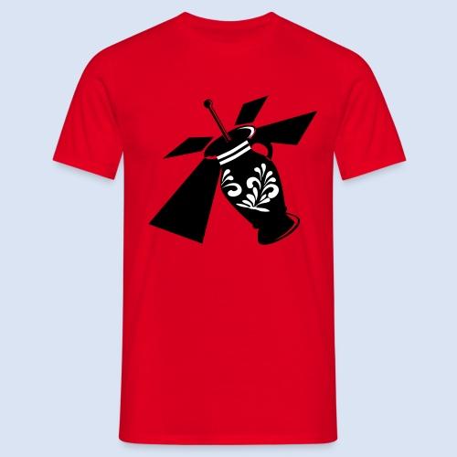 FRANKFURT SHIRT - Bembel Drohne Bembeltown - Männer T-Shirt