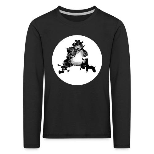 Buchstabe A - Kinder Premium Langarmshirt