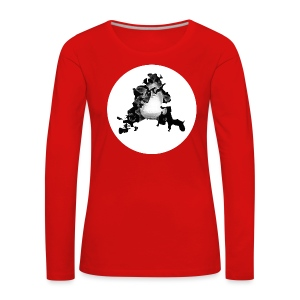 Buchstabe A - Frauen Premium Langarmshirt