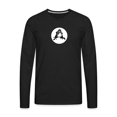Buchstabe A - Männer Premium Langarmshirt