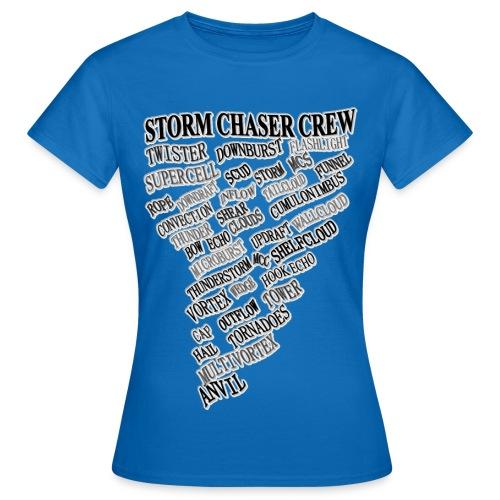 Damen T-Shirt STORMCHASER CREW - Frauen T-Shirt