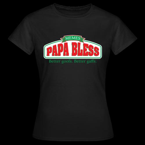 Papa Bless - Women's T-Shirt
