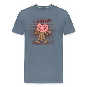 I scream - T-shirt Premium Homme