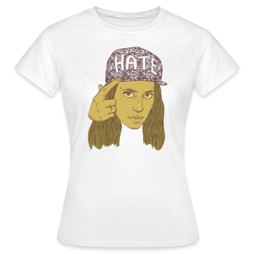 Hila Klein's Hate Hat - Women's T-Shirt