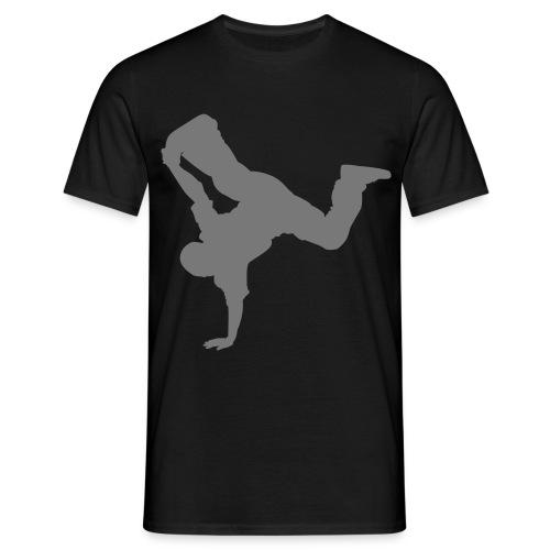 Breakdance (silver) - Men's T-Shirt
