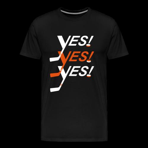 Yes! Yes! Yes! - Premium-T-shirt herr