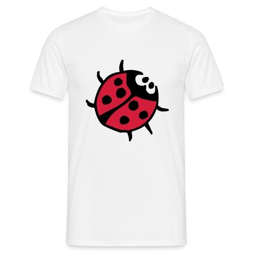 Ladybug (red & black) - Men's T-Shirt