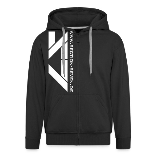 Section Sweat Jacket - Männer Premium Kapuzenjacke