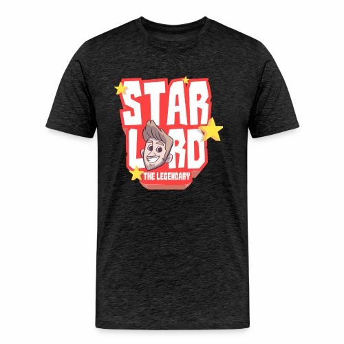 Starlord Men's Tee - Red Logo - Men's Premium T-Shirt