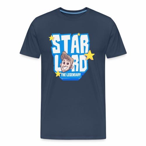 Starlord Men's Tee - Blue Logo - Men's Premium T-Shirt