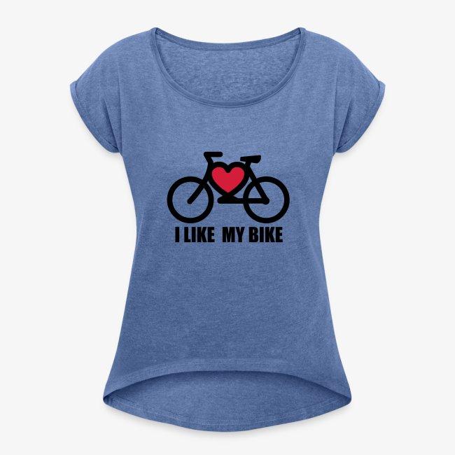 ff54d6d13a I like my bike-Para mujer