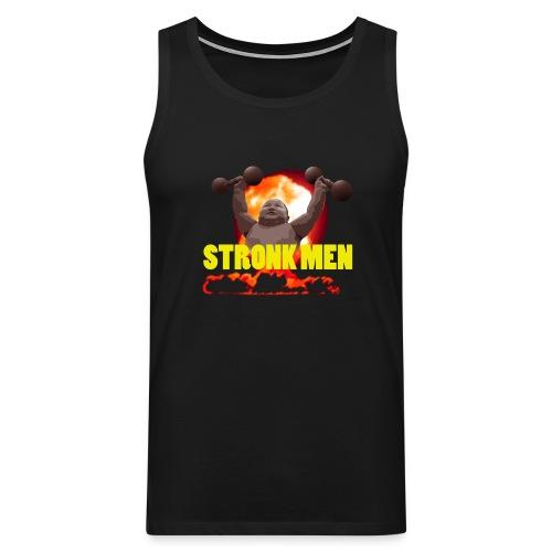 Stronk Sleeveless Shirt - Premiumtanktopp herr