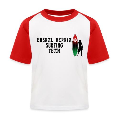 Basque surfing team - Kids' Baseball T-Shirt
