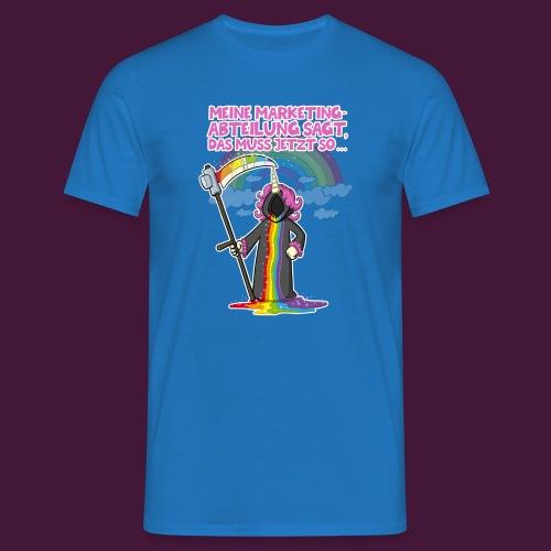 Einhorn Marketing - Männer T-Shirt