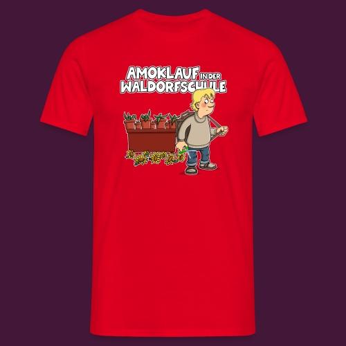 Amoklauf in der Waldorfschule - Männer T-Shirt