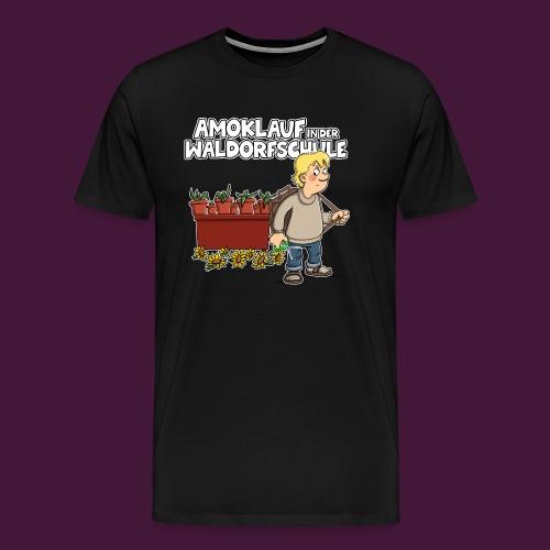 Amoklauf in der Waldorfschule - Männer Premium T-Shirt