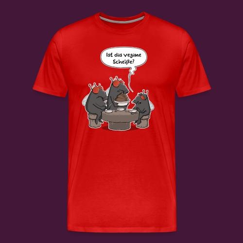 Vegane Scheiße - Männer Premium T-Shirt