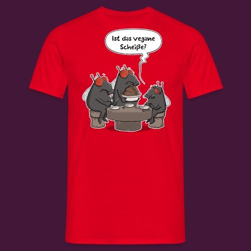 Vegane Scheiße - Männer T-Shirt