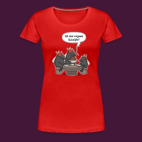 Vegane Scheiße - Frauen Premium T-Shirt