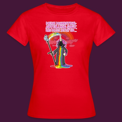 Einhorn Marketing - Frauen T-Shirt