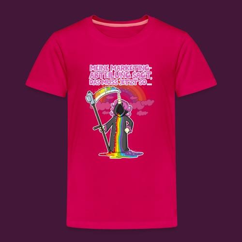 Einhorn Marketing - Kinder Premium T-Shirt