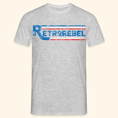 RetroRebelRetro - Herre-T-shirt