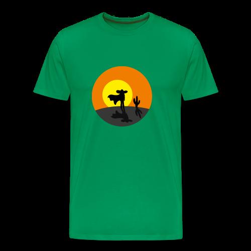 Lonesone Cowboy !!! - T-shirt Premium Homme