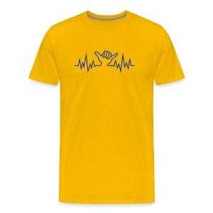 Wave  Hand Sign - Männer Premium T-Shirt