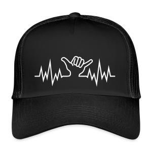 Wave  Hand Sign  - Trucker Cap