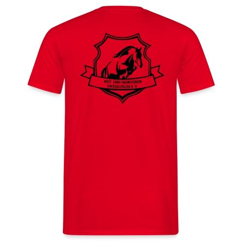 Reitverein Hasselfelde Männer T-Shirt - Männer T-Shirt