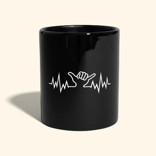 Wave  Hand Sign  - Tasse einfarbig