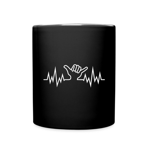 Wave  Hand Sign  - Tasse einfarbig