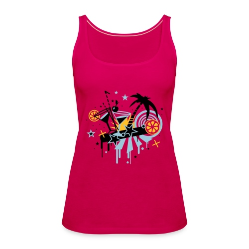 Amo la fiesta - Camiseta de tirantes premium mujer