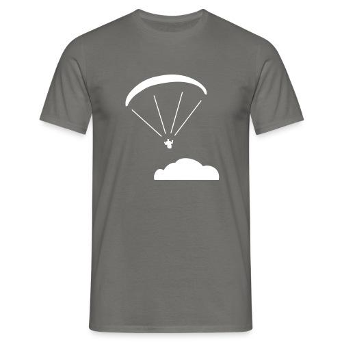 Above the clouds. - Männer T-Shirt