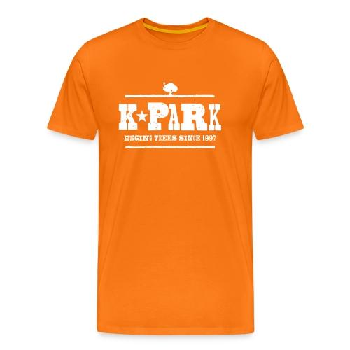 K*PARK Hugging Trees small - Männer Premium T-Shirt
