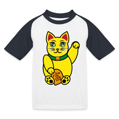 T-Shirt – Maneki Neko (Kiddies) - Kinder Baseball T-Shirt