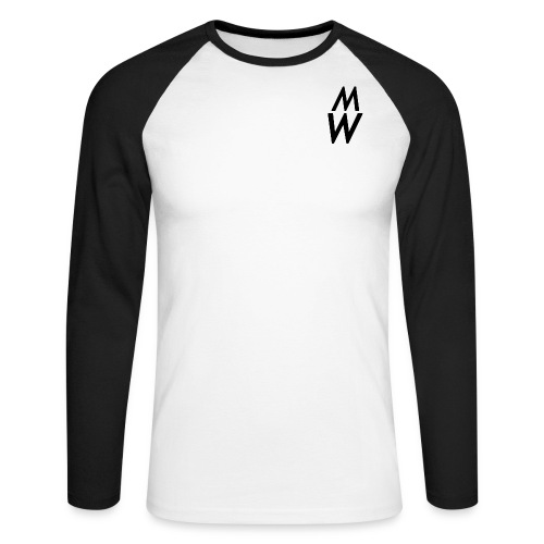 Shirt - Men's Long Sleeve Baseball T-Shirt