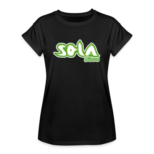 SOLA-Shirt WOMAN3 - Frauen Oversize T-Shirt