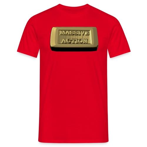 Massive Action - Männer T-Shirt