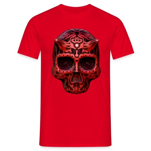 Skull Red - Männer T-Shirt