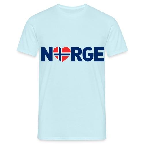 Elsker Norge - T-skjorte for menn