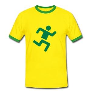 Fappin runners tee - Men's Ringer Shirt
