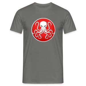 Cthulhu Red Cercle - T-shirt Homme