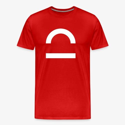 Symbol S rot - Männer Premium T-Shirt