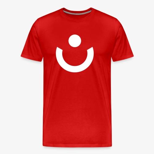 Symbol W rot - Männer Premium T-Shirt