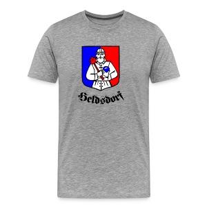 Heldsdorf  in Siebenbürgen - Transylvania, Erdely, Ardeal - Männer Premium T-Shirt